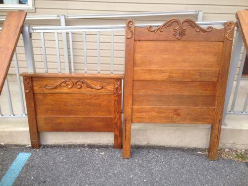 Antique Twin Bed : eBay