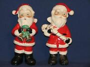 Vintage Santa Salt and Pepper