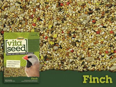 2 lb Higgins Vita Finch Specific With Probiotics for a Healthy Bird Seed Blend