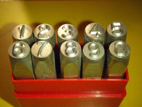 Reverse Steel Stamps Punches Amp Dies Ebay