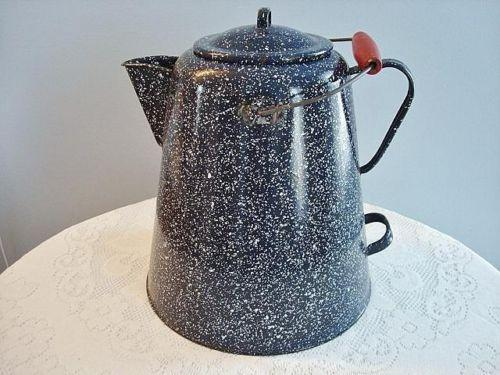 Graniteware Coffee Pot Ebay
