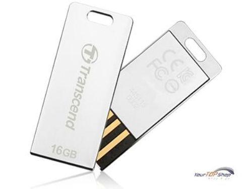 Transcend JetFlash T3S 16 GB silber USB Stick 16GB Speicherstick T3 S TS16GJFT3S