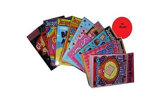Jacqueline-Wilson-Collection-10-Books-Candyfloss-Dustbin-Baby-Best-Friend-Sle
