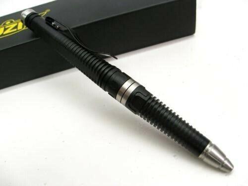 UZI UZI-TACPEN8-BK Aircraft Aluminum Defender Tactical Pen w