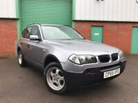 2005 (55) BMW X3 2.0 DIESEL FULL BMW SERVICE HISTORY IMMACULATE 92,000 MILES