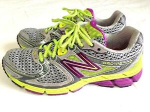 NEW BALANCE MULTI-COLOR TEXTILE WOMEN'S RUNNING SNEAKERS SIZE 7B