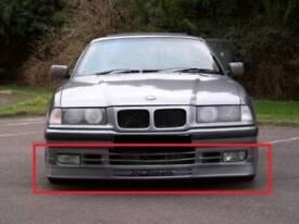 Bmw e36 alpina front bumper lip, not ac schnitzer bbs hartge msport mtech