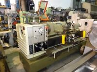 HARRISON M500 GAP BED CENTRE LATHE 60 INCHS DRO