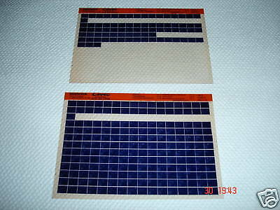 HONDA CIVIC COUPE EJ2(E) TYPE PARTS MICROFICHE FULL SET OF 2 - DATED 1993