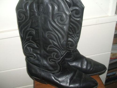 womens cowboy boots size 8 used ebay