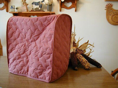 Rose Appliance Cover  fits Kitchen Aid Mixers, Solid quilted fabric