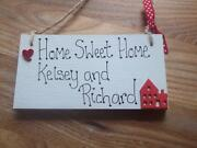 Personalised New Home Plaque