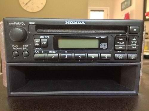 honda civic cd player ebay