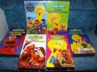 Elmo VHS Lot