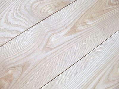 Massivholzdiele Esche Dielen Natur 20x180 x 500-2700 mm, massiv, unbehandelt ()