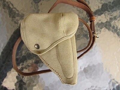 Japanese Type 94 Pistol Holster with shoulder strap & belt loop- exact repo