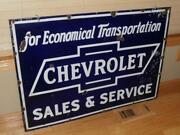 Chevrolet Dealer Sign