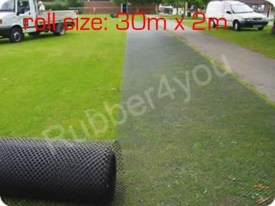 Ground Stabilisation Mesh 30m x 2m (60m2) FREE Delivery & FREE Fixing Pegs