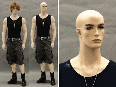 Tan Skin Male Mannequin Dress Form Display Md-ccb32f