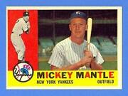 1960 Topps Mickey Mantle 350