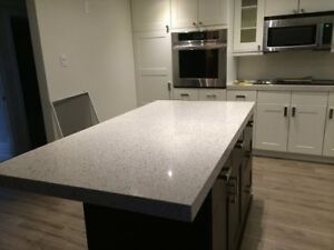 QUARTZ Counter-tops Installed in 3-5 days guaranteed!