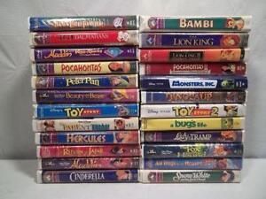 Walt Disney Classics Vhs Tapes Ebay