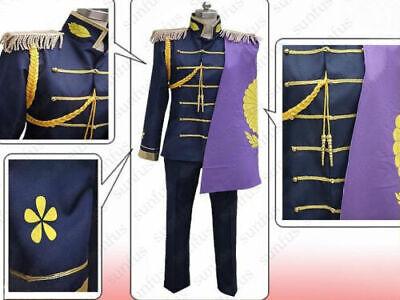 APH Axis Powers Hetalia Japan Kiku Honda Cosplay Costume Halloween Japanese#6922