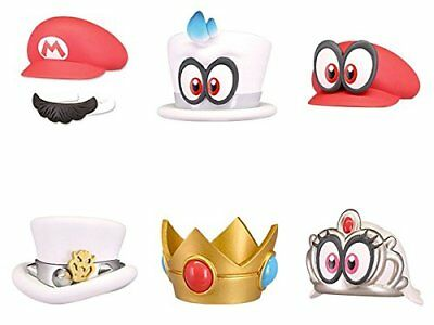 Nintendo Super Mario Odyssey Bottle Cap Collection [All 6 Sets (Full Complete)]