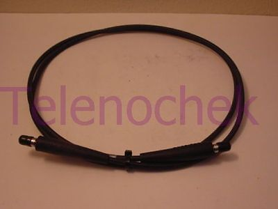 """40 GHz 9.0/"""" // 0.8 ft Semflex RF microwave coaxial cable 100dB 2.92mm // DC m"""