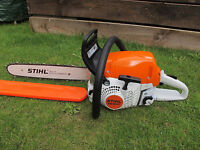 WANTED Stihl or Husqvarna chainsaw