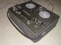 Rare Vintage Tandberg Reel to Reel Series 15 & Carry Case