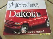 2001 Dodge Dakota Owners Manual