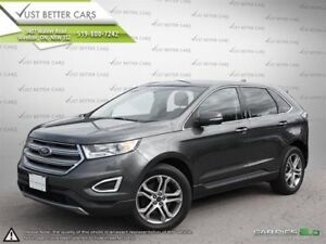 2015 Ford Edge, 2 Year Warranty Included Titanium