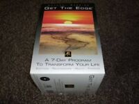 Anthony Robbins Get The Edge 7 Day Complete DVD set