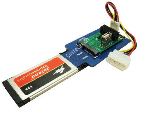 Sintech Laptop express card expresscard 34 to Mini PCI-e USB+ PCIe 1X Card