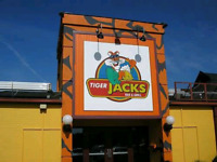 Tiger Jack's is hiring a new full time server