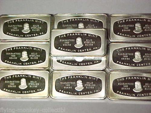 1000 Grain Silver Bar Ebay