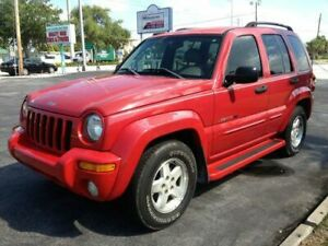 2003 JEEP LIBERTY LIMITED EDITION EDITION SPORT PKG-4X4-