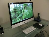 Apple iMac 27 inch 3.06 Ghz 8gb Ram 1TB Logic9 Adobe FinalCutProX/Studio **YOSMITE**