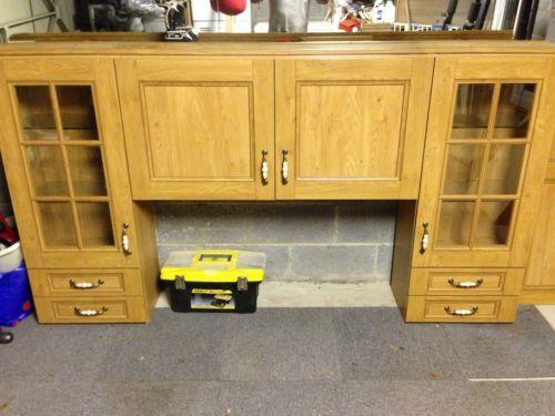 Used kitchen units ebay for Kitchen unit set
