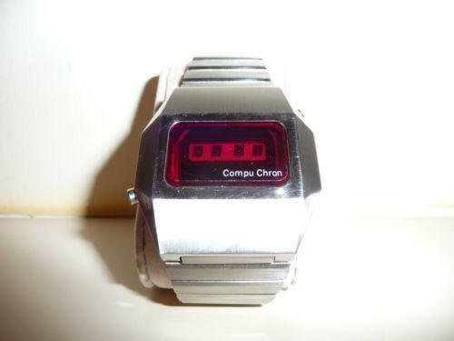 Vintage LED Digital Watch