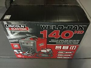 Brand new LINCOLN ELECTRIC 140 MIG WELDER