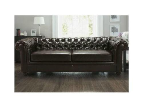 chesterfield sofa bed ebay