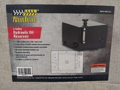 Nortrac 5 Gallon Hydraulic Oil Reservoir 4051111
