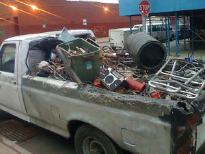 Free scrap metal appliance and electronic pickup call now