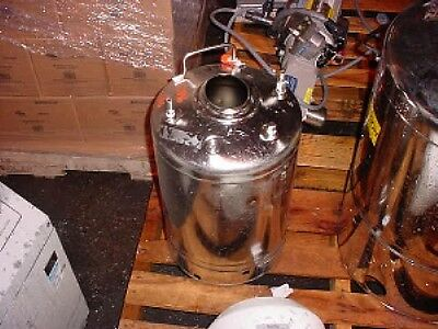 7 Gallon 316l Sanitary Polished Stainless Steel Pressure Tank 130 Psi