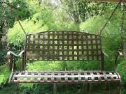 Iron Porch Swing
