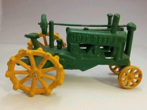 antique john deere toy tractors ebay. Black Bedroom Furniture Sets. Home Design Ideas