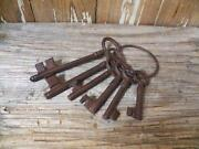 Antique Key Ring