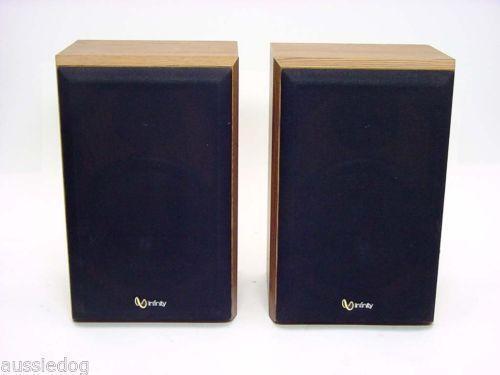 Infinity Bookshelf Speakers Ebay
